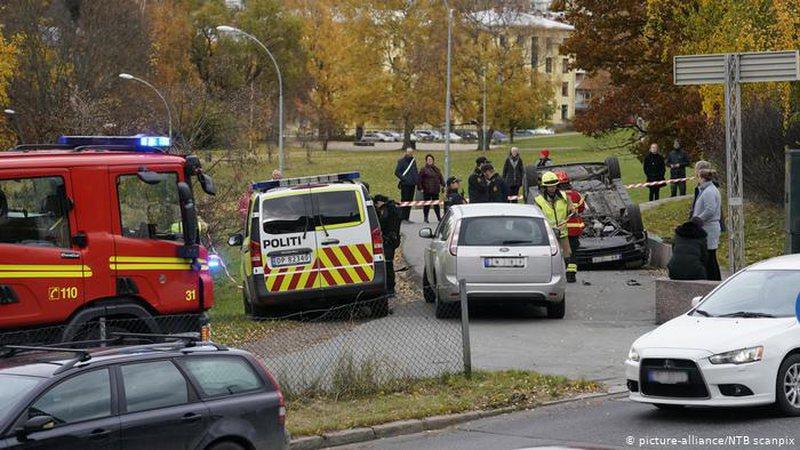 Norvegji, policia qëllon sulmuesin që drejtoi ambulancën e