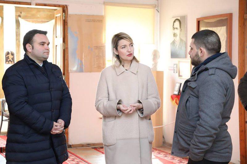 Margariti premton rikonstruksionin e Muzeut të Arsimit