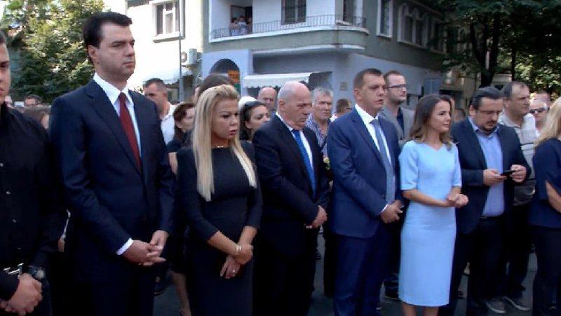 Rudina Hajdari dhe Lulzim Basha bëhen bashkë për herë