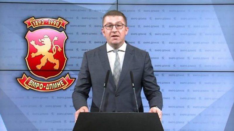 Maqedoni, Mickoski: Lufta e Zaev ishte mbrojtja e vetes, familjes dhe