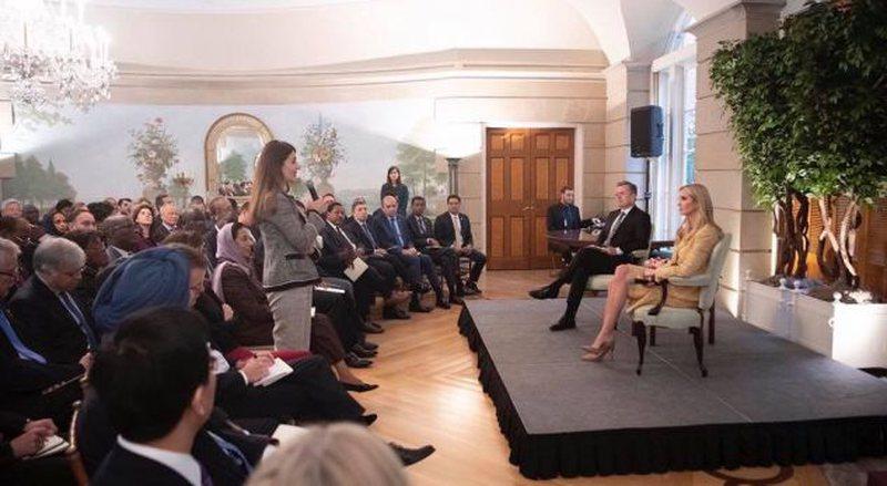 Ambasadorja kosovare Çitaku takohet me Ivanka Trump
