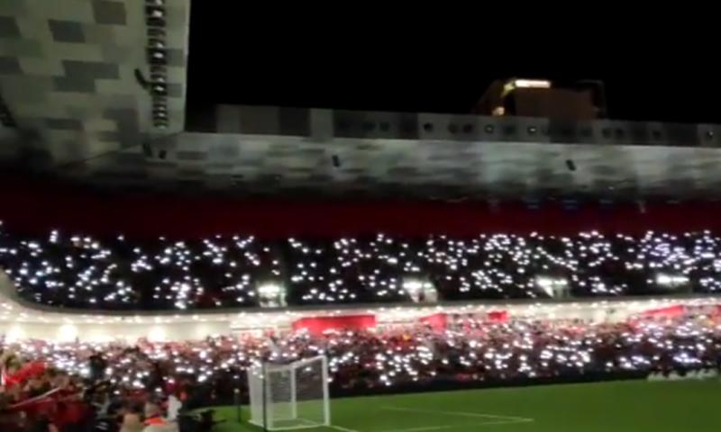 """Shënohet goli i parë në """"Air Albania Stadium"""""""