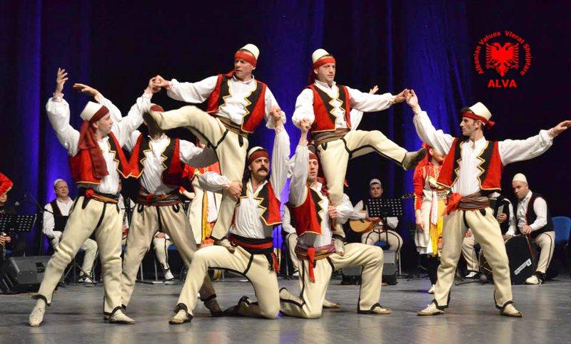 Viti i Skënderbeut, Ansambli Kombëtar i Këngëve dhe Valleve