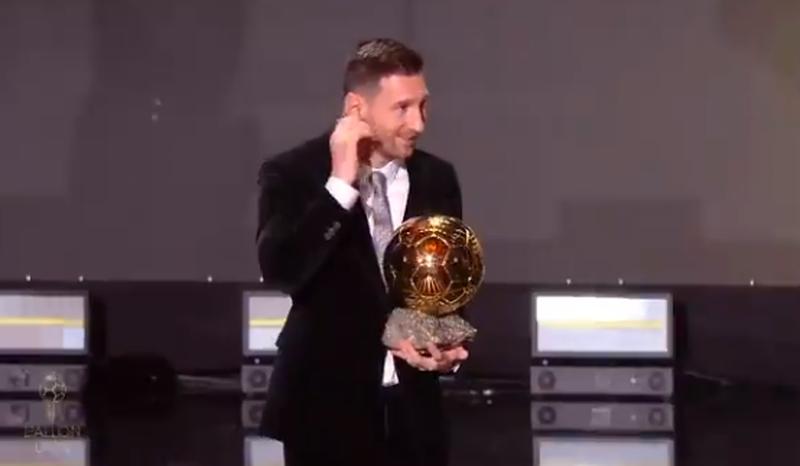 Messi nuk njeh rival, fiton për të 6-tën herë Topin e
