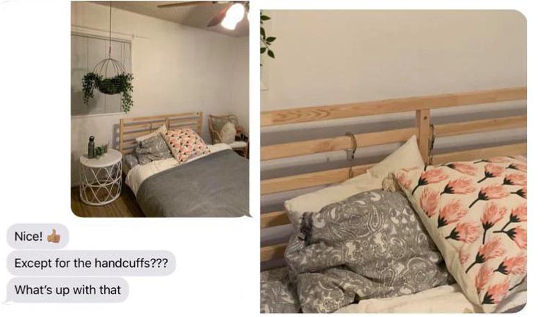 I tregon nënës dhomën e gjumit, por harron një detaj që