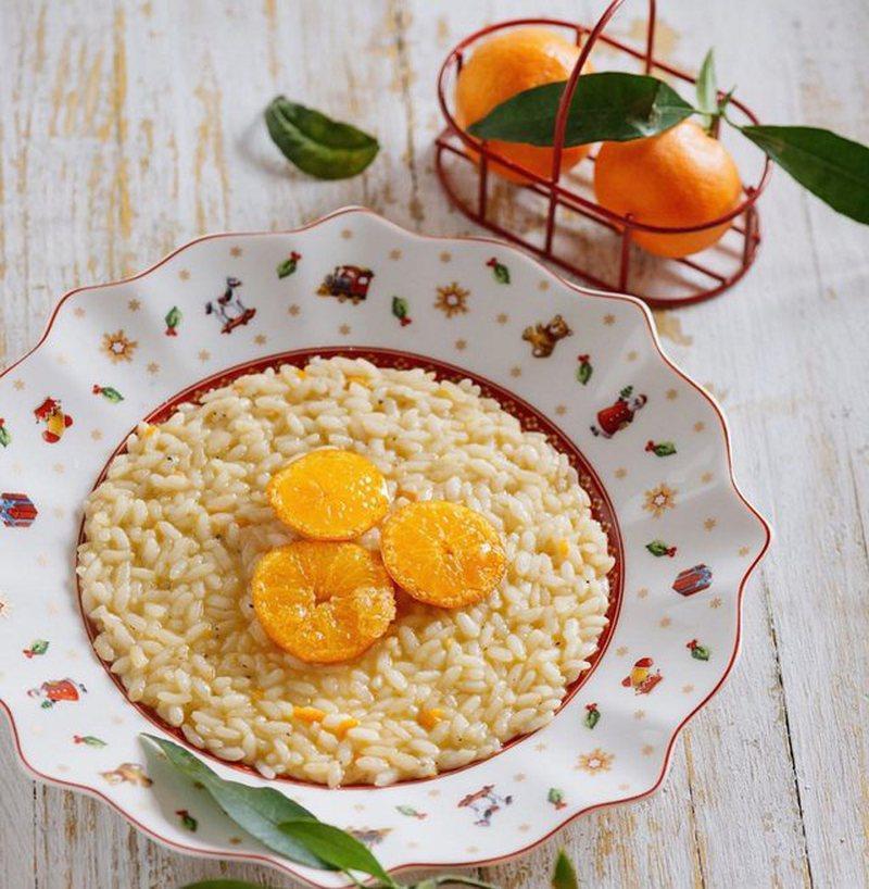 Rizoto me mandarina, receta e veçantë që  duhet ta provoni