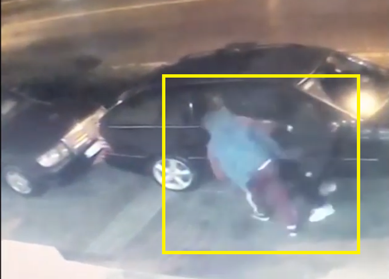 Del video e një tentative vrasje në Elbasan, gazetarja tregon se