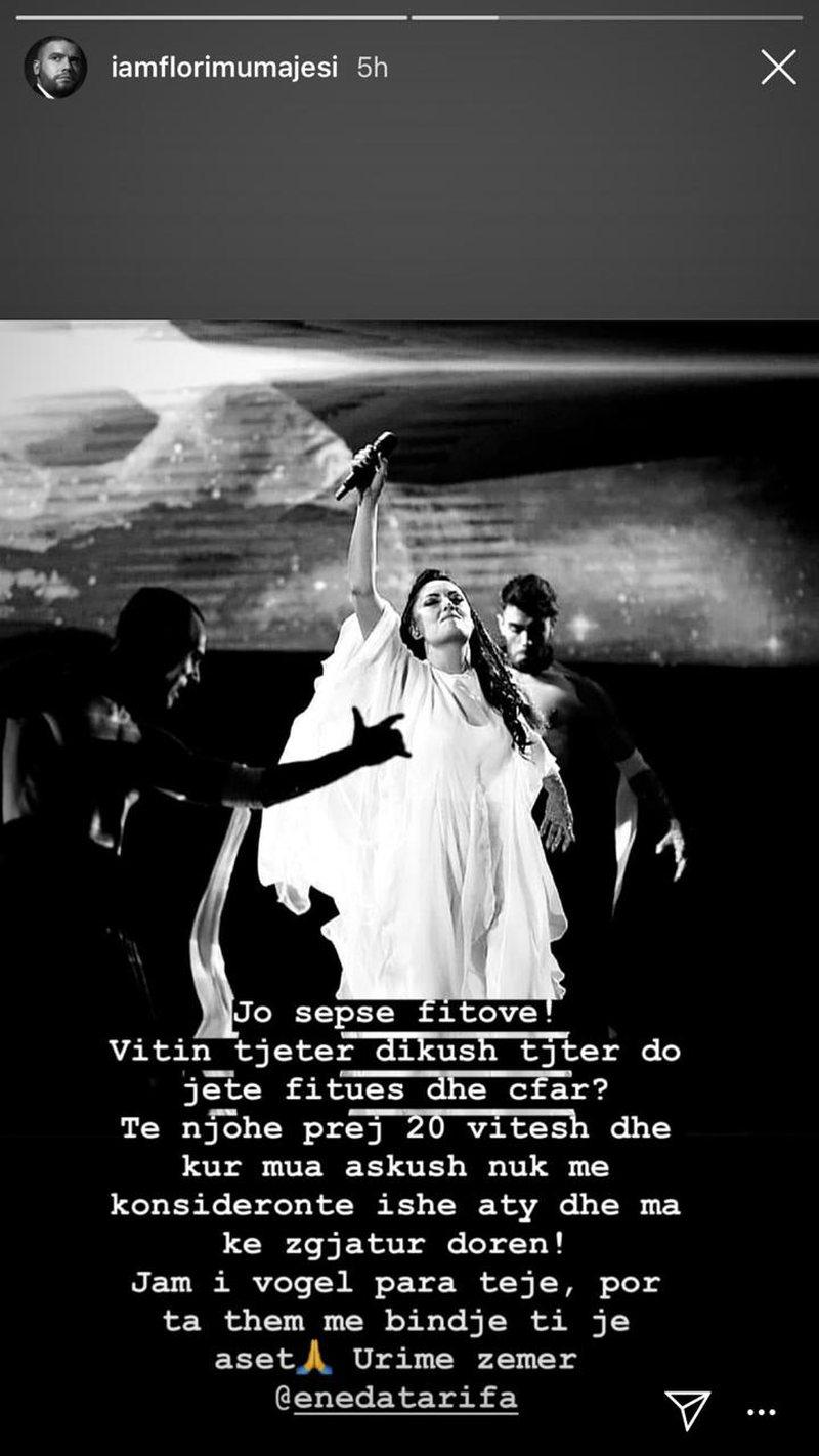 """U shpall fituese e """"Këngës Magjike, Flori Mumajesi emocionon me"""