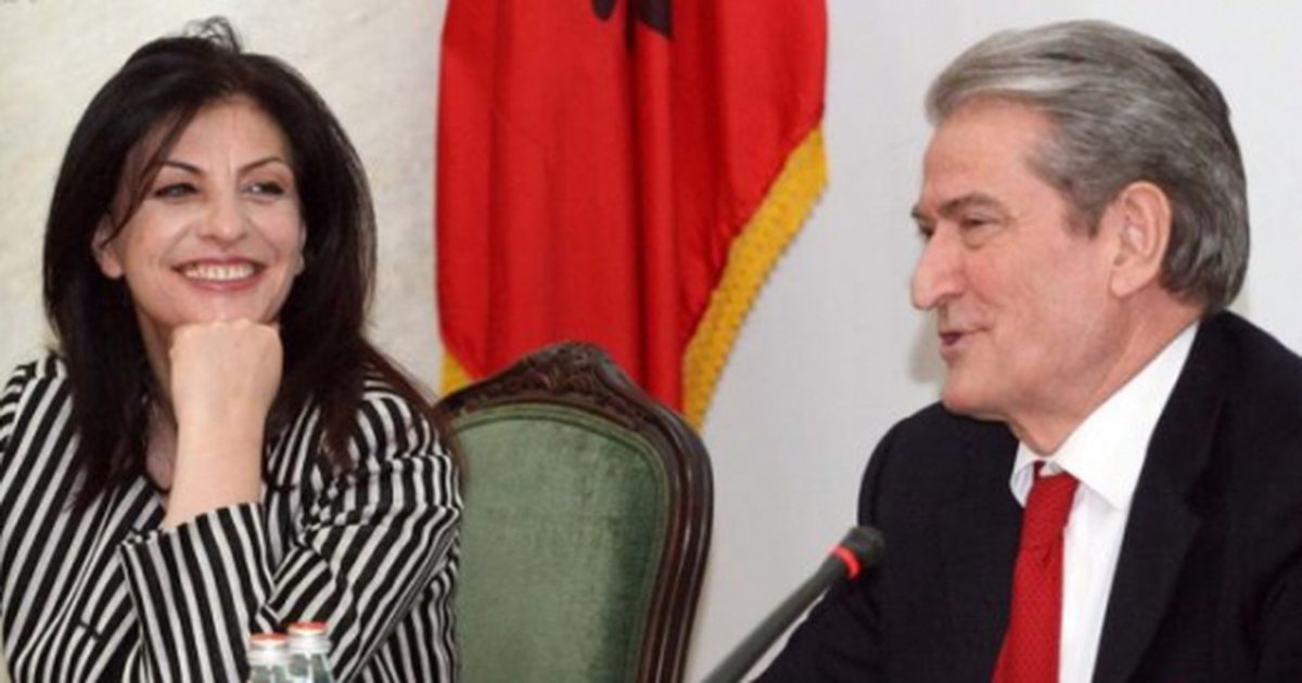 Does he communicate with former Prime Minister Sali Berisha? Jozefina  Topalli answers - Politike