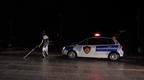 Plagoset polici dhe dy persona të tjerë në Pogradec