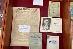 Biblioteka Kombëtare, ekspozitë në përkujtim të