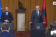 Presidenti i Këshillit Europian në Tiranë për negociatat: Ja