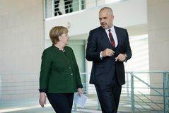 Kryeministri Rama takon të hënën Merkelin, në fokus të