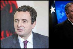 SHBA shton presionet, Pompeo letër Kurtit, thirrje të heqë