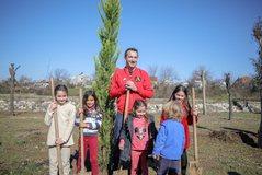 Bashkia e Tiranës mbjell 100 pemë të reja në parkun linear