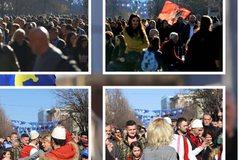 12 vjet Pavarësi, Kosova feston me këngë e valle dhe me flamujt