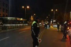 Policia aksion 'blic' gjatë mesnatës në Tiranë,