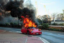 VIDEO/ Ferrari me vlerë 1 milionë euro digjet në mes të