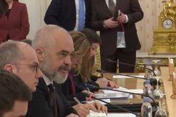 Konflikti Rusi- Ukrainë, Rama takon ministrin e jashtëm Sergej Lavrov