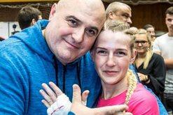 Sportistja shqiptare dhe babai i saj rezultojnë me koronavirus