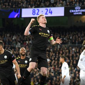 Manchester City fiton me përmbysje,  Pep Guardiola thyen Realin në