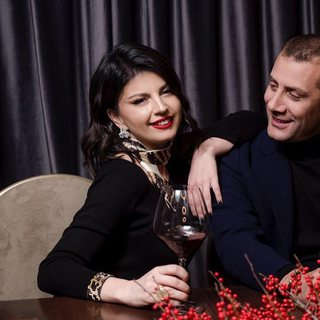 FOTO/ Rudina Dembacaj dhe Mark Frroku...