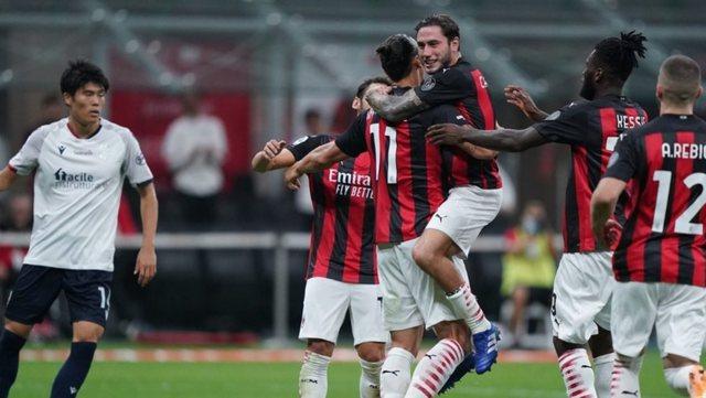 Mjafton Ibrahimovic për Milanin