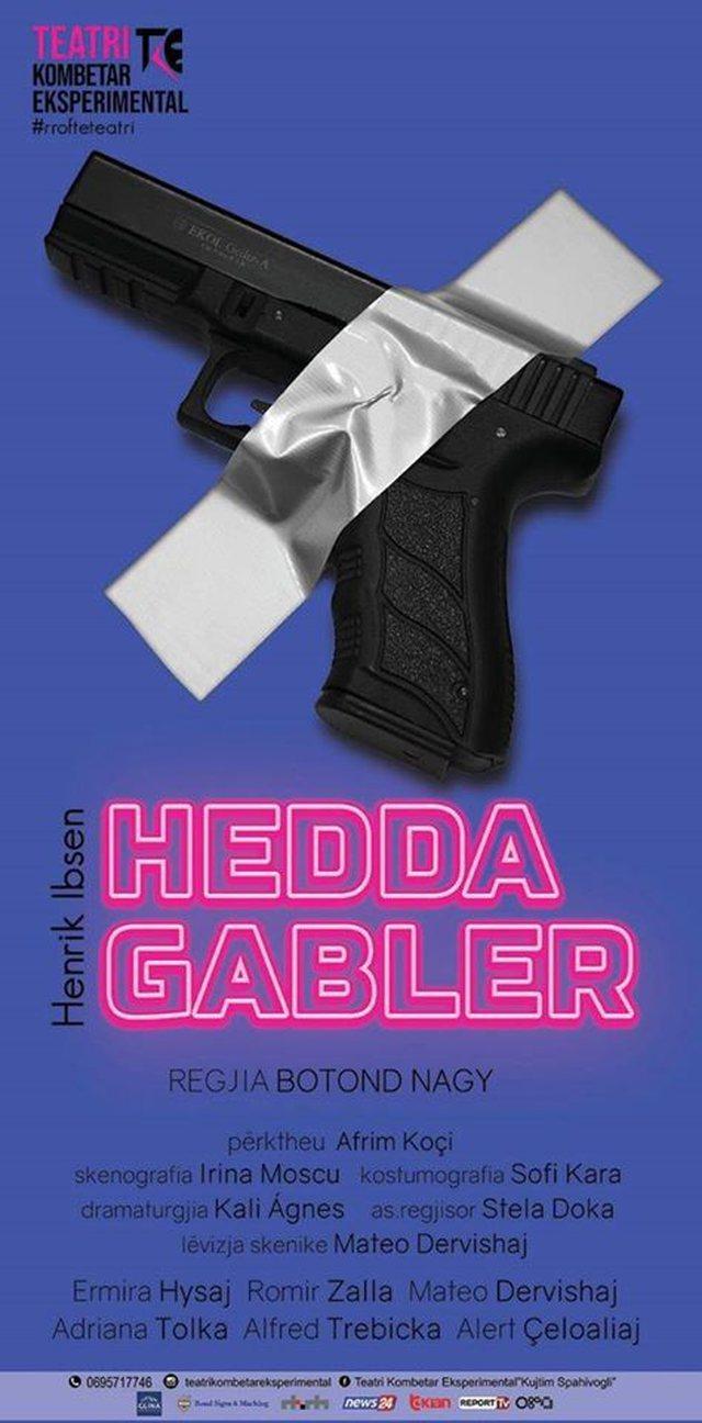 """""""Hedda Gabler"""" vjen premierë në skenë, nga Teatri"""