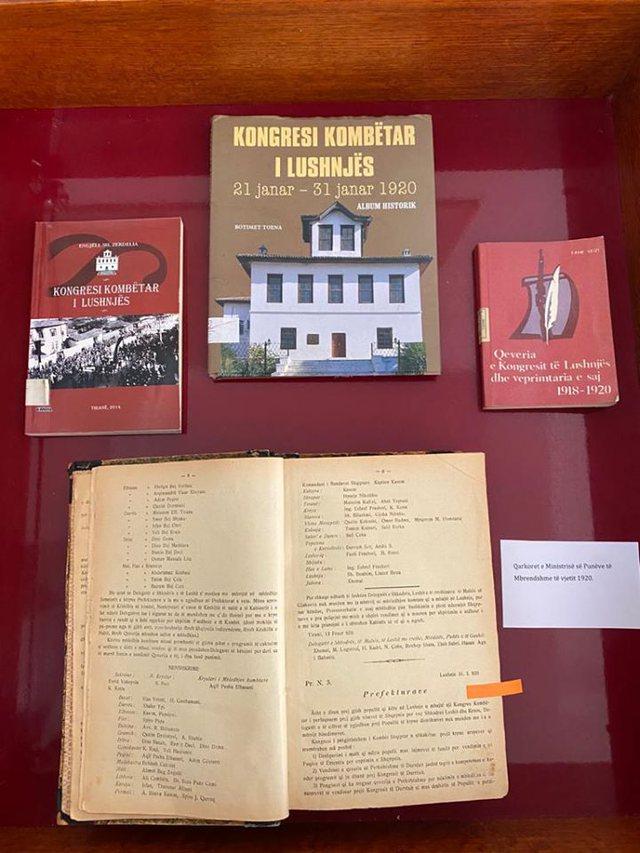 Biblioteka Kombëtare, ekspozitë me rastin e 100-vjetorit të