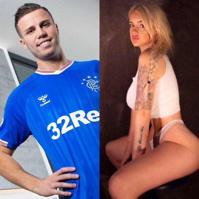 U transferua me bujë tek Rangers, modelja seksi sulmon lojtarin e