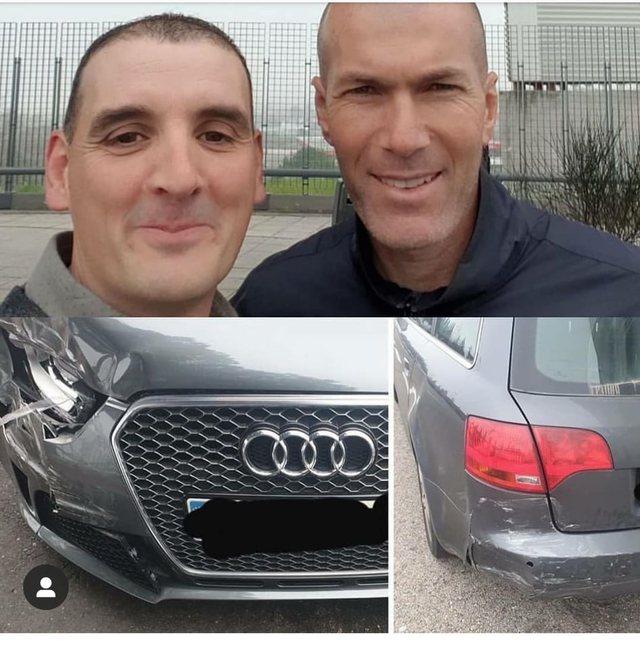Zinedin Zidane e përplasi me makinë, shoferi befason me
