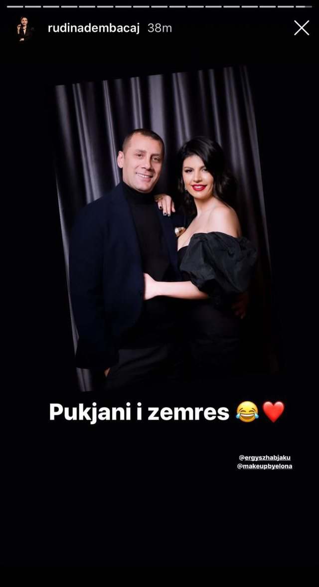 """""""Pukjani i zemrës"""", Rudina Dembacaj zbulon një tjetër"""