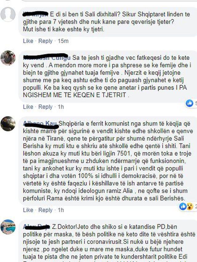 Qytetarët nuk përmbahen ndaj Sali Berishës, i përplasin
