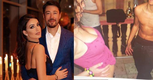 Armina Mevlani poston fotot hot me mikun e saj, ai gjysmë i zhveshur: