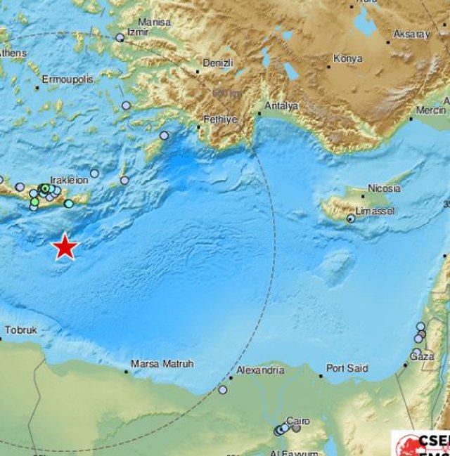 Tërmet 6.5 ballë në Greqi, Qëndra Europiane e Tërmeteve