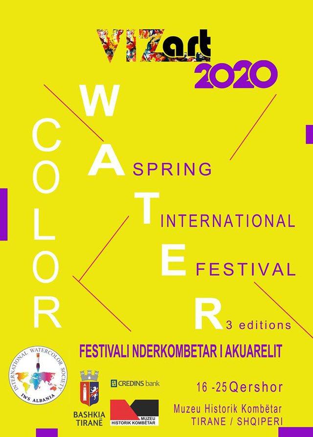 Festivali Ndërkombëtar i Akuarelit me dy ekspozita të