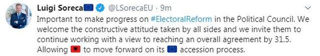 Debati për Reformën Zgjedhore, reagon BE, mesazh të qartë