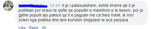 """""""Ilir floriri, ja kush do të fundosë"""", qytetarët"""