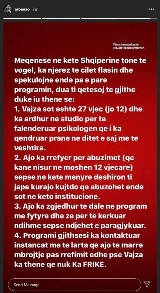 """""""Ka njerëz që spekulojnë"""", Arbana Osmani reagon"""