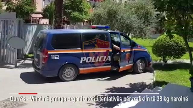 32 kg heroinë në Portin e Durrësit, kapet  organizatori dhe