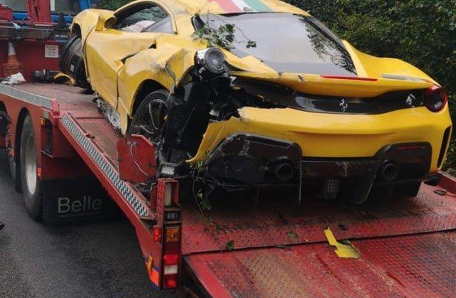Aksident 'horror' 250 mijë euro, Ferrari