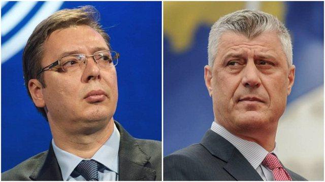 Aktakuza ndaj Hashim Thaçit nga Haga, befason Vuçiç me
