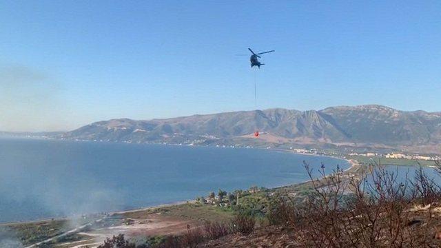 Zjarr i madh në Pashaliman, Ministria e Mbrojtjes nis operacion me