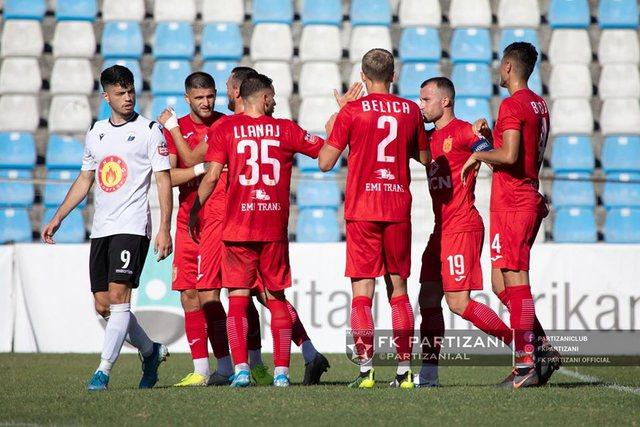 Në prag të derbit me Tiranën, dy lojtarë të Partizanit