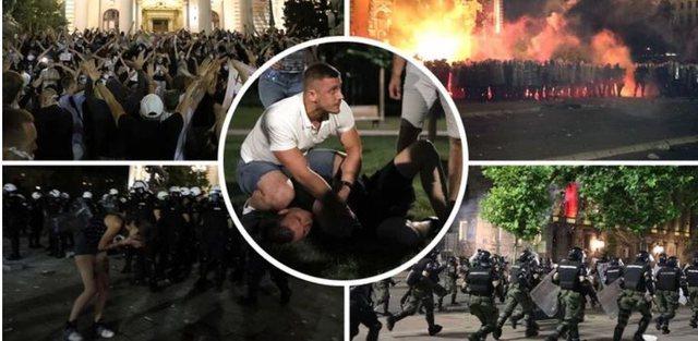 Çfarë po ndodh në Serbi? Beogradi në flakë