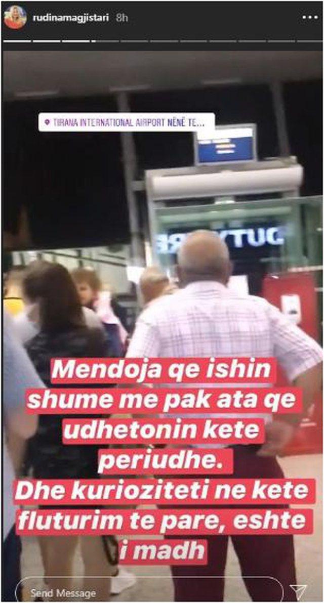 Nisi pushimet jashtë Shqipërisë, Rudina Magjistari përballet