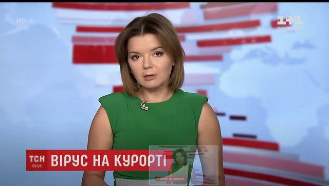 I bie dhëmbi gjatë transmetimit live, moderatorja e lajmeve bën