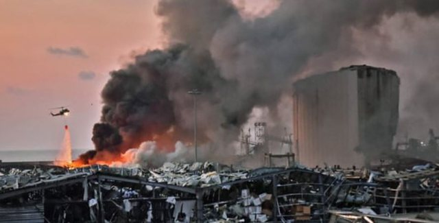 Shpërthimi në Beirut ishte aq i fuqishëm sa u ndje deri në