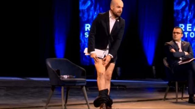 Hoqi pantallonat live para Ramës, Alfred Lela 'bën