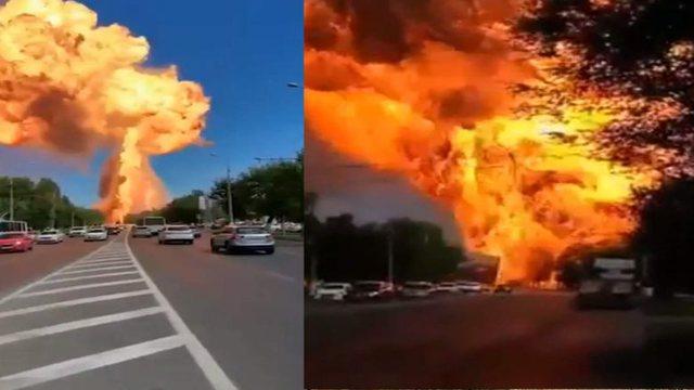 VIDEO/ Shpërthim i fuqishëm në Rusi, ka të lënduar